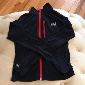 Boys a&f size small zip-up